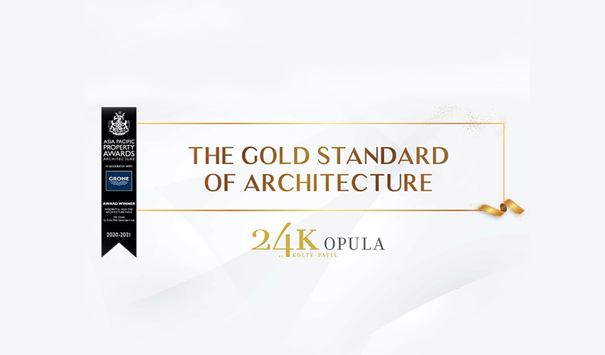 An Award That Recognises Our Excellence in Architecture
