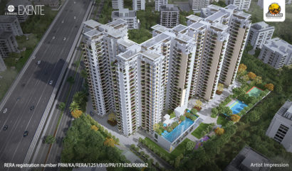 Don't let lockdown knockdown an opportunity to enjoy Bengaluru's most future-ready lifestyle at Kolte-Patil iTowers Exente