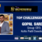 Prestigious 'Top Challenger 2019-20' Award at the 18th Construction World Global Awards 2020