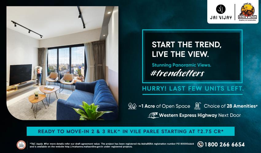 Start the Trend, Live the Stunning Panoramic Views at Jai Vijay by Kolte-Patil