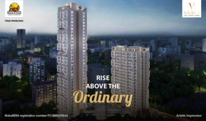 Rise above the Ordinary at the Highest Tower in IC Colony, Vaayu only at Borivali Dahisar Corridor