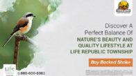 Discover a perfect balance of nature's beauty and quality lifestyle at Life Republic Township