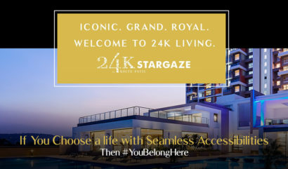 Reside where the seamless and unmatched connectivity will tell you that #YouBelongHere at 24K Stargaze