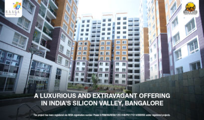 Kolte Patil Raaga- A Luxurious and Extravagant offering in India's Silicon Valley, Bangalore
