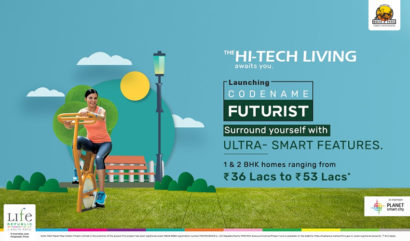 Surround Yourself with Ultra-Smart features as the High-Tech Living awaits you at Codename Futurist at Life Republic